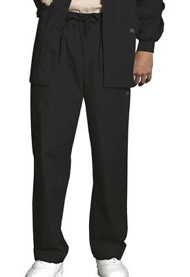 Scrubs Cherokee Workwear Mens Cargo Pant 4000 Black   FREE SHIPPING