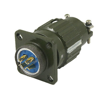 Military 4 Pin Cylindrical Voltage Circular Connector