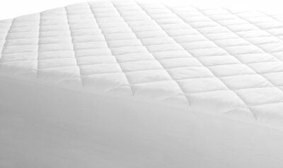 EXTRA DEEP QUILTED MATTRESS PROTECTOR BED COVER ANTI ALLERGY All SIZES