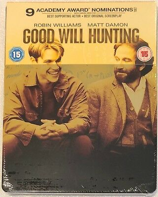 Good Will Hunting - UK Exclusive Limited Edition Blu-Ray **Region B**