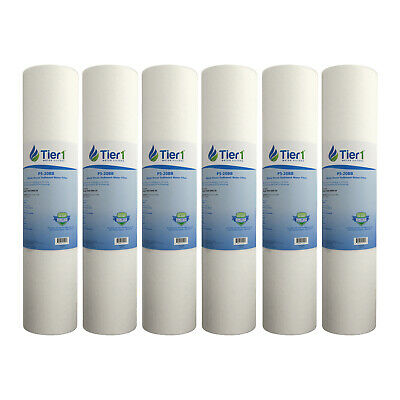 Pentek DGD-5005-20 5 Micron 20 x 4.5 Comparable Sediment Water Filter 6 Pack