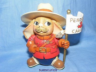 Pendelfin Canadian Monty The Mountie Limited Edition