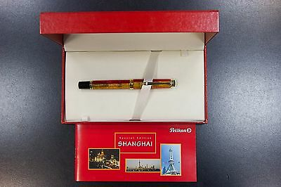 "New Rare Pelikan ""shanghai"" Special Edition R620 Rollerball Pen, Full Set, Boxed"