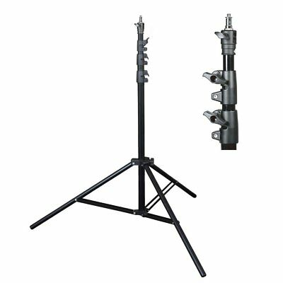 240cm Quality Air Cushioned Studio Light Stand 4 Section Interchangeable Fitting
