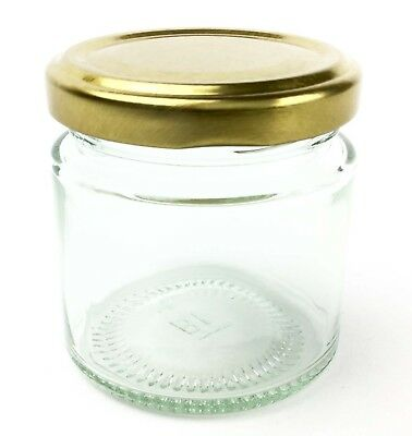 Nutley's 100ml glass jam jars small preserves samples wedding favours