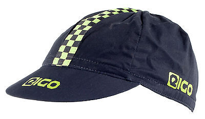 Eigo Retro Vintage Cycling Cap Cotton - Fixed Gear Bicycle Road Race Green/black