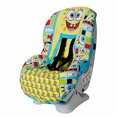 New Baby Kids Car Seat Cover Spongebob Toddler Child Infant Polyester Clean Fit
