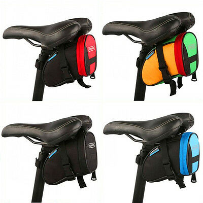 ROSWHEEL Waterproof Cycling Cycle Bicycle Bike Saddle Pouch Back Rear Seat Bag