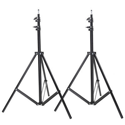 Neewer 10ft Aluminum Alloy Tripod Light Stand for Studio Strobe Lighting 2 pack