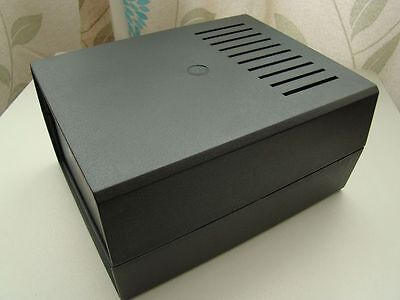 Project Enclosure Case 179x147x90MM with Vents Ventilation Slots KE2AW
