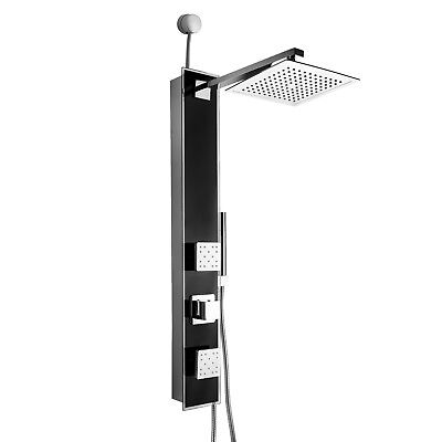 "35"" Shower Panel Tower Handheld Shower Head Wand Body Spray High Efficiency"