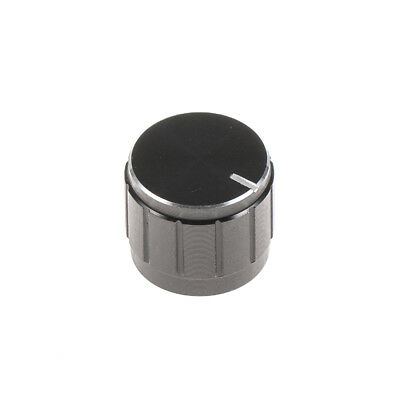 Knob Plastic for Rotary Encoder Black - Lot of 5