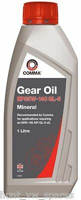 Comma EP85W-140 1L Gear Oil - HMG1L -  API GL-5
