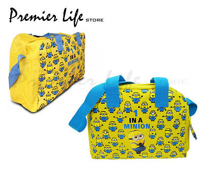 Minions Movie Satchel Messenger Holdall Bag - One In A Minion Holdall bag