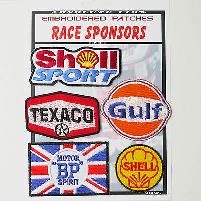 RACE TEAM MOTORSPORT F1 SPONSORS - Iron-On Patch Super Set #052 - FREE POSTAGE!