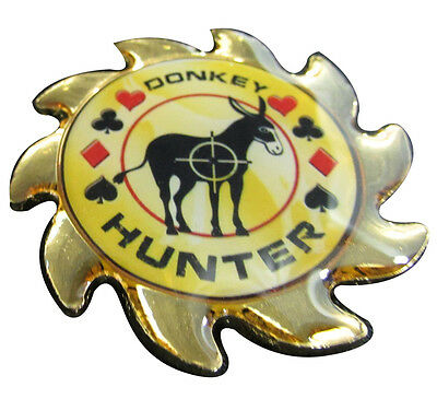 Casino Poker Card Guard Cover Protector Spinner Donkey Hunter