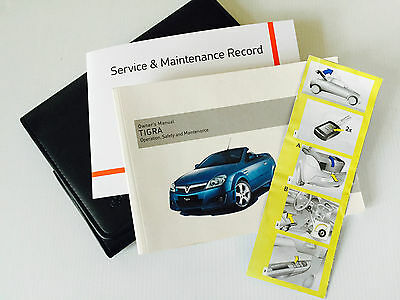 Vauxhall Tigra Service Book Handbook Manual & Wallet Pack 2004 To 2009