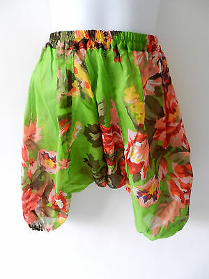 Girls boys baby harem pants floral baggy summer hippy boho trousers 6-12 months