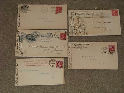 Advertising Covers, Late 1890`s, Lot A