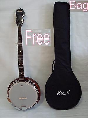 High Quality 5 String Banjo, Remo Head, Free Gig Bag