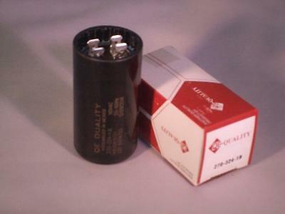 NEW 270 - 324 MFD 110-125 vac Electric Motor Start Capacitor uf HVAC volts