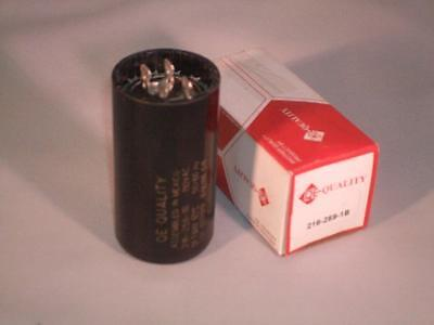 NEW 216 - 259 MFD 110-125 vac Electric Motor Start Capacitor uf HVAC volts