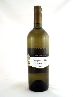 2003 HOUGHTON WINERY Pemberton Sauvignon Blanc Isle of Wine