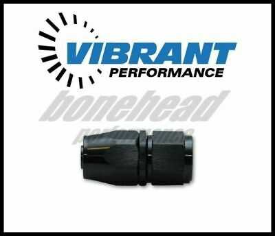 Vibrant Performance 21006 Straight Hose End Fitting; Hose Size: -6AN