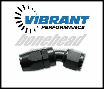 Vibrant Performance 21312 30 Degree Hose End Fittings; Hose Size: -12 AN