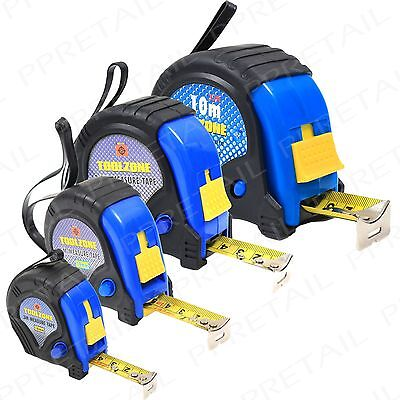 Tape Measure SMALL- EXTRA LARGE 3/5/7.5/10M Rubber Coated Case High Quality