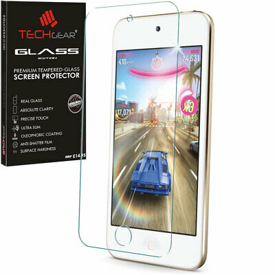 TECHGEAR TEMPERED GLASS Invisible Screen Protector for Apple iPod Touch 6th Gen
