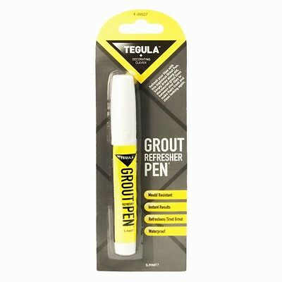 Grout Whitener Refresher Pen Instant Kitchen Shower Bathroom Tile Cleaner