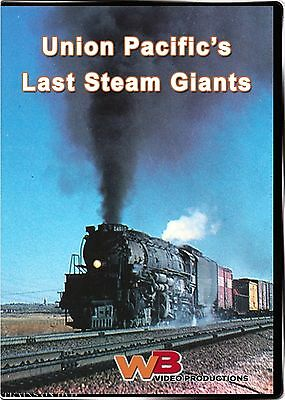 Union Pacific's Last Steam Giants Big Boys Wb Video Productions New Dvd