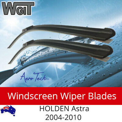 Windscreen Wiper Blades For HOLDEN Astra 2004-2010 AH - Aero Tech Design (PAIR)