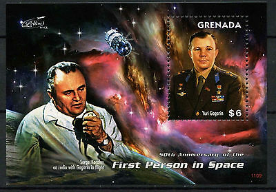 Grenada 2011 First Man In Space MNH M/S #A91819