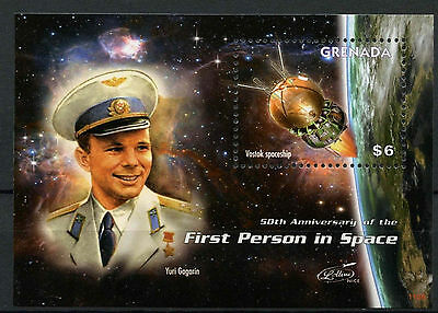 Grenada 2011 First Man In Space MNH M/S #A91818