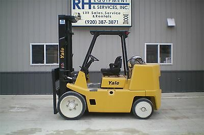 2004 Yale GLC155 15500# Capacity LP Forklift Lift Truck