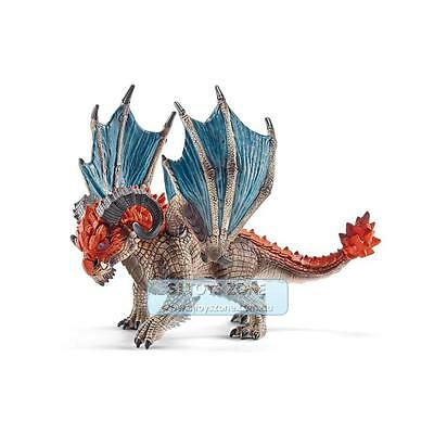 Schleich - Dragon Battering Ram Toy Figure The World Of Knights For Kids