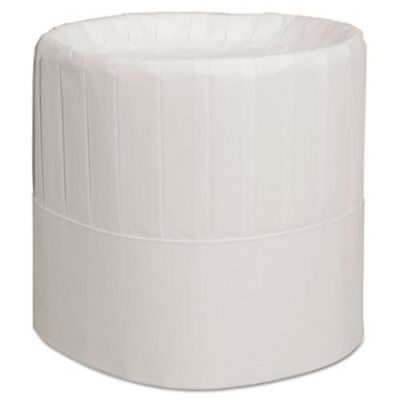 """Royal RCH7 7"""" Pleated Paper Chef Hat, 28 Hats (RPPRCH7)"""