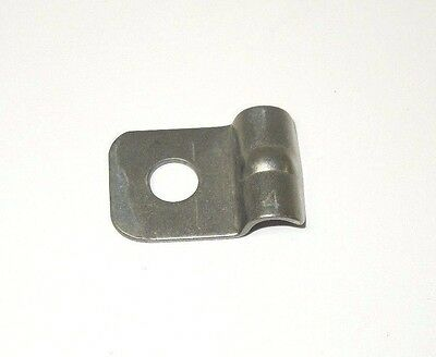 """Tubing Clamp Single Line 1/4"""" 316 Stainless Steel         745Nw"""