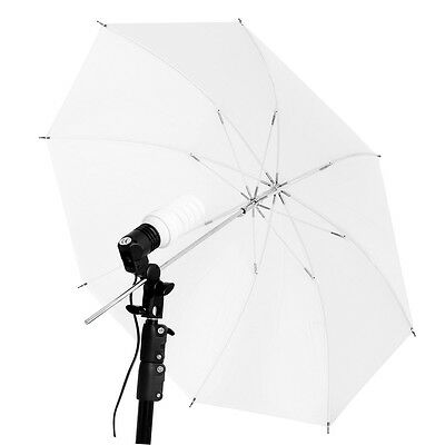 Neewer 48 inch Photography Studio Translucent Shoot Through White Umbrella