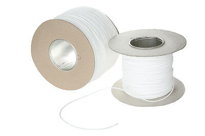 Washable Piping Cord- Upholstery -Soft Furnishing-3/4/5/6Mm - White -5/10/25/50M