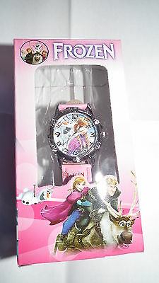 Disney Frozen Elsa & Anna  Kids Quartz Watch with stainless steel back