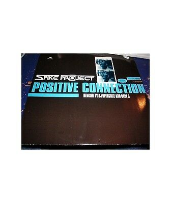 """[CC02629] Spike Project """"Positive Connection""""  - 12"""" Fifty First Recordings 51 R"""