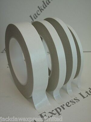 Double Sided Adhesive Sticky Tissue Tape Finger Tear various widths & lengths
