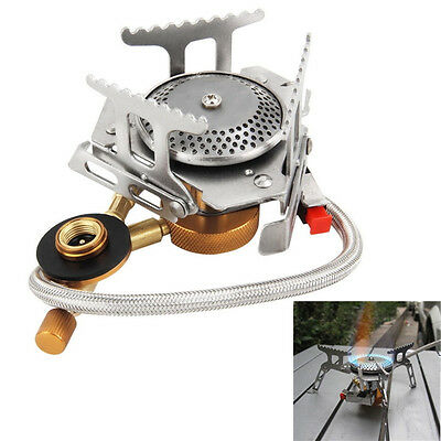 Outdoor Portable Gas Stove Cooker Burner for BBQ Camping Hiking Picnic Cookout