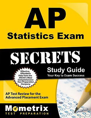 AP Statistics Exam Secrets Study Guide