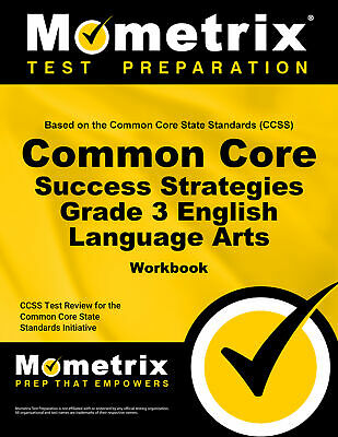 Common Core Success Strategies Grade 3 English Language Arts Workbook