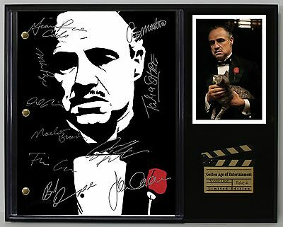 """GODFATHER LTD Edition Reproduction Signed Movie Script Display """"C3"""""""