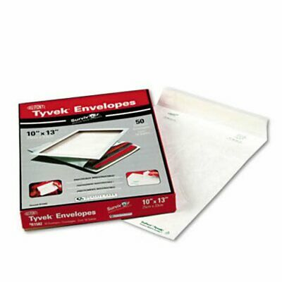 Survivor Tyvek Mailer, Side Seam, 10 x 13, White, 50/Box (QUAR1582)